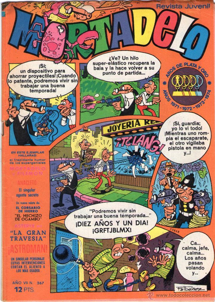 MORTADELO - AÑO VII - Nº 267 - EDITORIAL BRUGUERA - AÑO 1976. (Tebeos y Comics - Bruguera - Mortadelo)