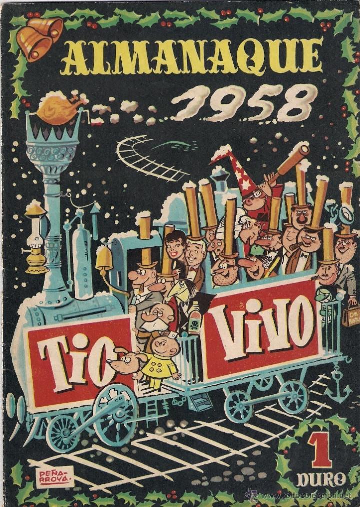 TIO VIVO. ALMANAQUE DE 1958 (Tebeos y Comics - Bruguera - Tio Vivo)