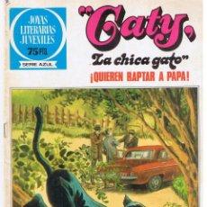Tebeos: JOYAS LITERARIAS JUVENILES. SERIE AZUL. Nº 89. ``GATY, LA CHICA GATO´´BRUGUERA 1ª EDC.1983(ST/MANGA7. Lote 45052737
