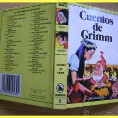 Tebeos: BRUGUERA COLECCIÓN HISTORIAS INFANTIL, NÚMERO 5 - GRIMM - CUENTOS DE GRIMM. Lote 178844595