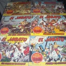 Tebeos: EL JABATO ORIGINAL LOTE 39 NºS. BRUGUERA 1958. TAMBIÉN SUELTOS. ENTRA Y MIRA.. Lote 45133653