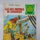 Tebeos: JOYAS LITERARIAS JUVENILES Nº 207. LAS DOS PRUEBAS DE SANDOKAN. EMILIO SALGARI. TDKC2. Lote 45146177