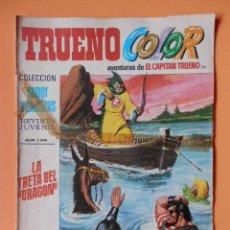 Tebeos: TRUENO COLOR. AVENTURAS DE EL CAPITÁN TRUENO, Nº 111. LA TRETA DEL DRAGÓN - VÍCTOR MORA. Lote 45148212