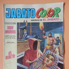 Tebeos: JABATO COLOR. AVENTURAS DE EL JABATO, Nº 123. ¡EL ASALTO! - VÍCTOR MORA. Lote 45148258