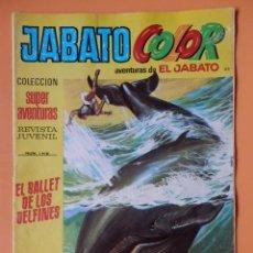 Tebeos: JABATO COLOR. AVENTURAS DE EL JABATO, Nº 119. EL BALLET DE LOS DELFINES - VÍCTOR MORA. Lote 45148288