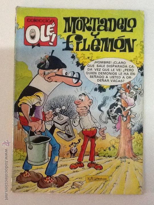 OLE MORTADELO Y FILEMON Y EL BOTONES SACARINO (Tebeos y Comics - Bruguera - Ole)