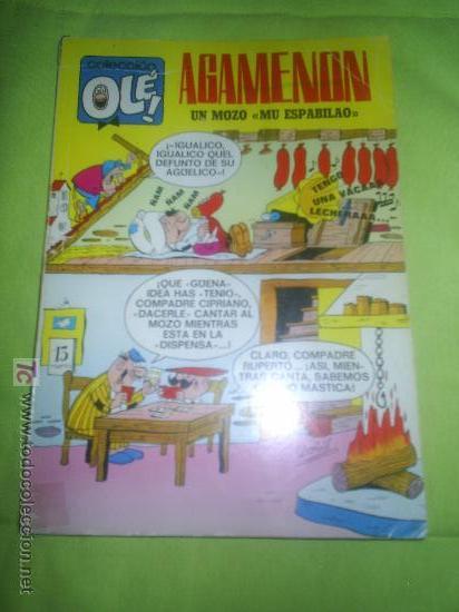 M69 OLE AGAMENON NUMERO 13 PRIMERA EDICION 1971 INCOMPLETO (Tebeos y Comics - Bruguera - Ole)