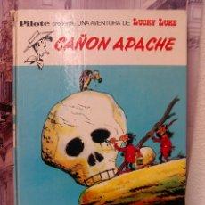 Tebeos: LUCKY LUKE -CAÑON APACHE- AÑO 1973 TAPA DURA. Lote 45178034
