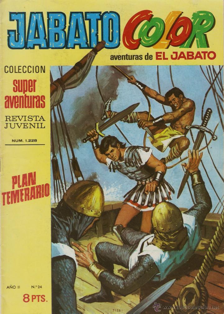 EL JABATO Nº 24 PRIMERA EPOCA. EN EXCELENTE ESTADO (Tebeos y Comics - Bruguera - Jabato)