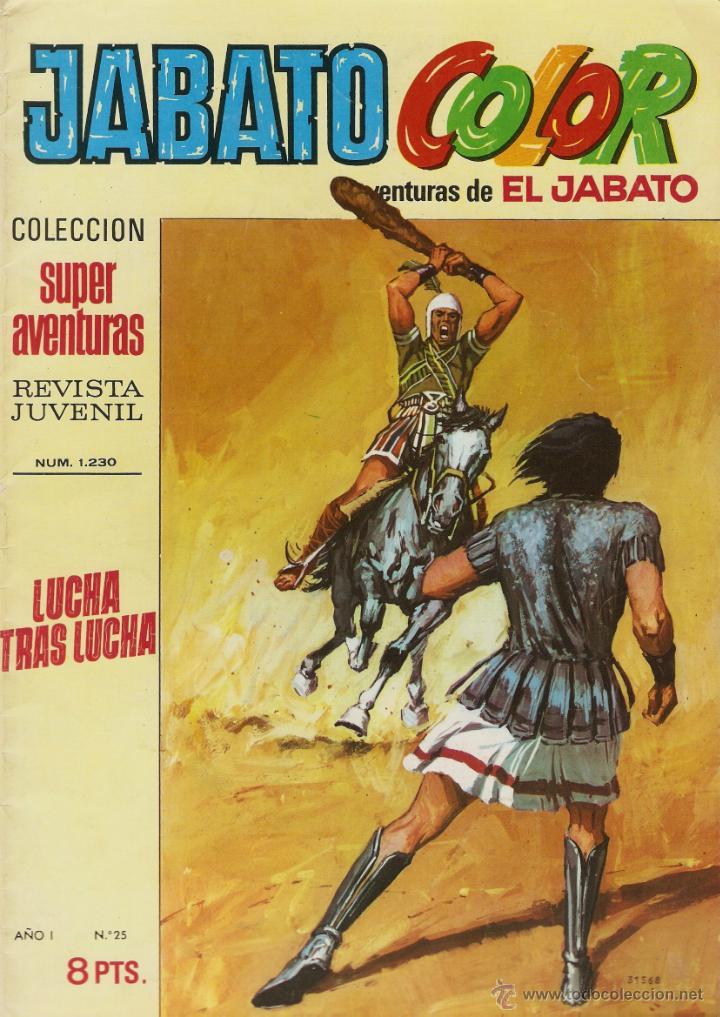EL JABATO Nº 25 PRIMERA EPOCA. EN EXCELENTE ESTADO (Tebeos y Comics - Bruguera - Jabato)