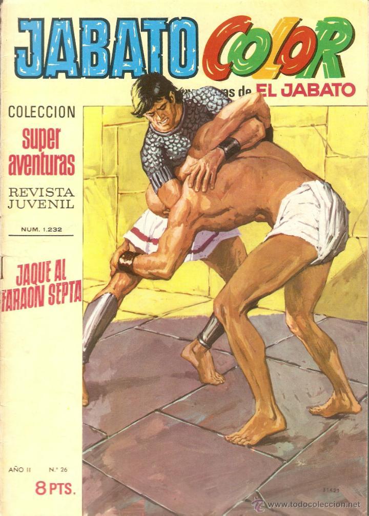 EL JABATO Nº 26 PRIMERA EPOCA (Tebeos y Comics - Bruguera - Jabato)