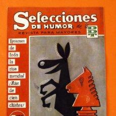 Livros de Banda Desenhada: SELECCIONES DE HUMOR DE EL DDT - Nº 88 - EDITORIAL BRUGUERA 1958 -. Lote 45237764