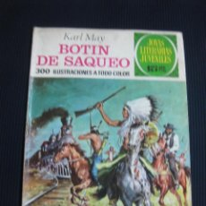 Tebeos: BOTIN DE SAQUEO. KARL MAY. JOYAS LITERARIAS Nº 87. 1973. Lote 53303230