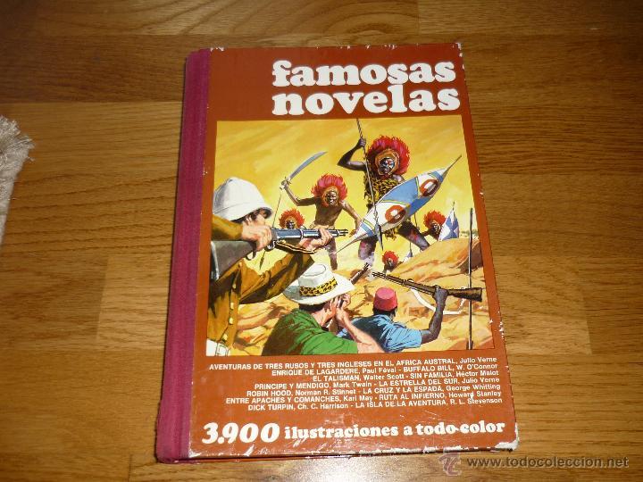 FAMOSAS NOVELAS-TOMO III-3-PERFECTO ESTADO DE LIBRERIA 1ª EDICION-BRUGUERA (Tebeos y Comics - Bruguera - Otros)