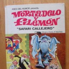 Tebeos: MORTADELO Y FILEMON, SAFARI CALLEJERO, 1971. Lote 45276509