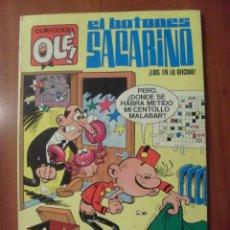 Tebeos: COLECCION OLE, EL BOTONES SACARINO, LIOS EN LA OFICINA, 1 EDICION 1971. Lote 45303084