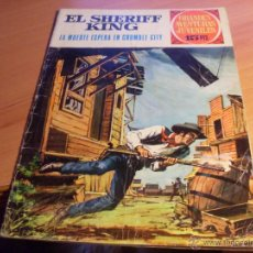 Tebeos: SHERIFF KING Nº 16 GRANDES AVENTURAS JUVENILES. 1972 (ED. BRUGUERA) (CL10). Lote 45411910