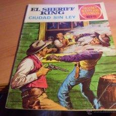 Tebeos: SHERIFF KING Nº 18 GRANDES AVENTURAS JUVENILES. 1972 (ED. BRUGUERA) (CL10). Lote 174830483