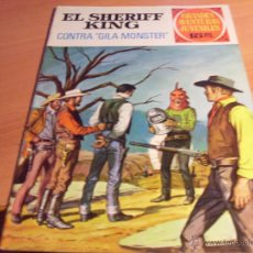 Tebeos: SHERIFF KING Nº 24 GRANDES AVENTURAS JUVENILES. 1972 (ED. BRUGUERA) (COIB32). Lote 45412625