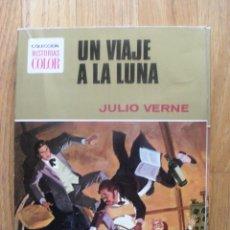 Tebeos: UN VIAJE A LA LUNA, JULIO VERNE, COLECCION HISTORIAS COLOR,1 EDICION. Lote 45415464