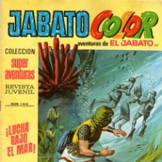 Tebeos: JABATO COLOR - Nº 117 - PRIMERA ÉPOCA - EDITORIAL BRUGUERA - AÑO 1972. Lote 45467329