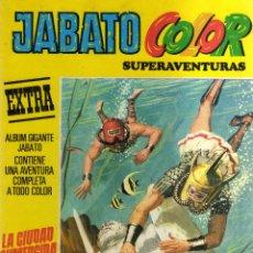 Tebeos: JABATO COLOR (SUPERAVENTURAS, NÚMERO 6, TERCERA ÉPOCA, BRUGUERA) - CJ145. Lote 45470402