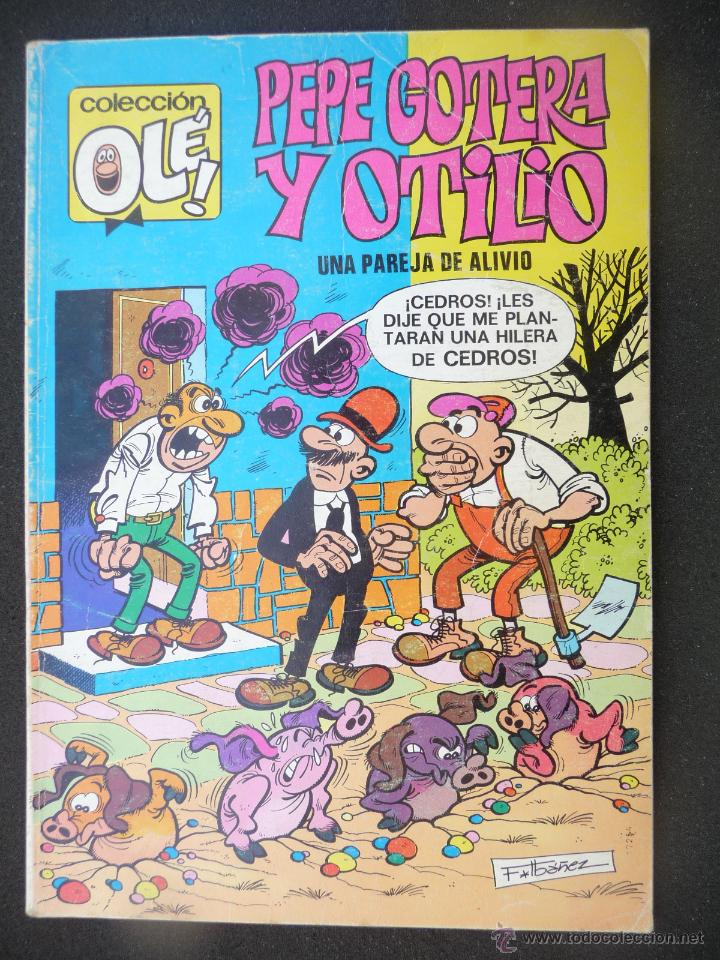 PEPE GOTERA Y OTILIO. Nº 82 ( EN LOMO). 2ª EDICIÓN. BRUGUERA (Tebeos y Comics - Bruguera - Ole)