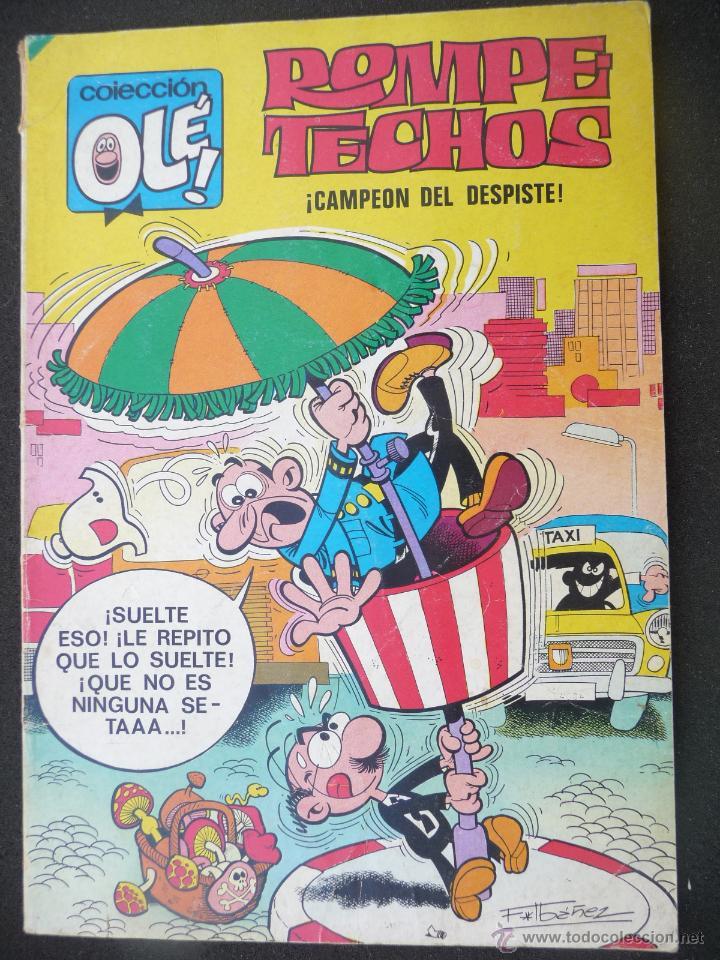 ROMPETECHOS. OLÉ Nº 36. 4ª EDICIÓN. BRUGUERA (Tebeos y Comics - Bruguera - Ole)