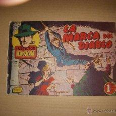 Tebeos: INSPECTOR DAN Nº 22, EDITORIAL BRUGUERA. Lote 45519991