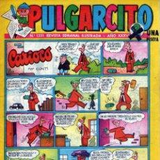 Tebeos: PULGARCITO 1331 - HISTORIASCOPIO CON EL CAPITÁN TRUENO + INSPECTOR DAN. Lote 45561758