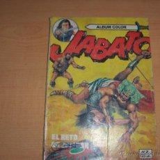 Tebeos: JABATO - ALBUM COLOR - Nº 7 - EDITORIAL BRUGUERA / 125 PTS. Lote 45571059