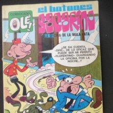Tebeos: EL BOTONES SACARINO. OLÉ Nº 62 ( EN LOMO). 2ª EDICIÓN. BRUGUERA. Lote 45571716