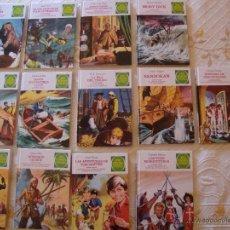 Tebeos: 13 TOMOS CON TRES NÚMEROS CADA UNO DE JOYAS LITERARIAS JUVENILES ( TOTAL 39 TÍTULOS). Lote 45581257