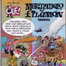 Tebeos: MORTADELO Y FILEMON - TERRORISTAS Nº 92 PRIMERA EDICION AÑO 1994 - EDICIONES B - . Lote 45581625