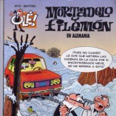 Tebeos: MORTADELO Y FILEMON - EN ALEMANIA Nº 91 PRIMERA EDICION AÑO 1994 - EDICIONES B - . Lote 45581792