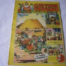 Tebeos: EL CAPITAN TRUENO EXTRA, Nº 27, ORIGINAL. Lote 45598639