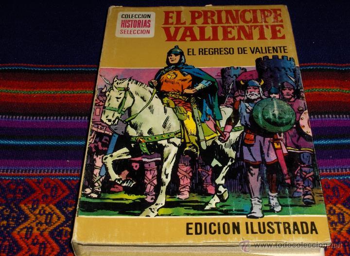 HISTORIAS SELECCIÓN HÉROES Nº 3 PRÍNCIPE VALIENTE. BRUGUERA 1ª PRIMERA ED 1977. REGRESO DE VALIENTE (Tebeos y Comics - Bruguera - Historias Selección)