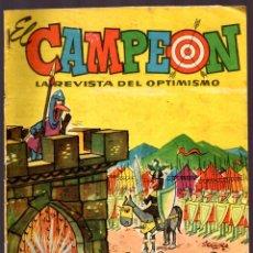 Tebeos: EL CAMPEON Nº 1 SEMANARIO PARA LOS JOVENES AÑO 1º MARZO 1960. Lote 45661565