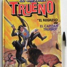 Tebeos: EL REGRESO DE EL CAPITÁN TRUENO - CÓMIC EDITORIAL BRUGUERA 1ª EDICIÓN 1986 VÍCTOR MORA JESÚS BLASCO. Lote 45689479