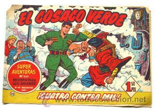 EL COSACO VERDE Nº 20, ORIGINAL (Tebeos y Comics - Bruguera - Cosaco Verde)