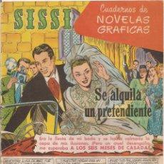 Tebeos: SISSI SELECCION DE NOVELAS GRAFICAS Nº 36. Lote 45723504