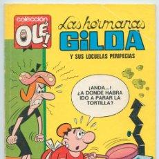 Tebeos: COLECCIÓN OLÉ! - LAS HERMANAS GILDA - ED. BRUGUERA - Nº 9 - 2ª EDICIÓN - 1977. Lote 279507678