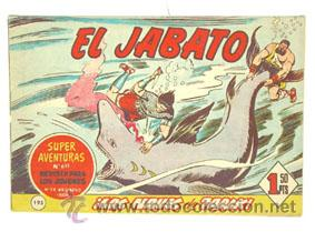 EL JABATO Nº 193, ORIGINAL DE BRUGUERA (Tebeos y Comics - Bruguera - Jabato)