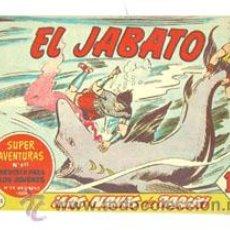 Tebeos: EL JABATO Nº 193, ORIGINAL DE BRUGUERA. Lote 45794663