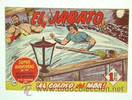 EL JABATO Nº 159, ORIGINAL DE BRUGUERA (Tebeos y Comics - Bruguera - Jabato)