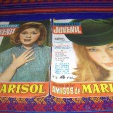 Tebeos: MUNDO JUVENIL REVISTA AMIGOS MARISOL NºS 3 Y 18. BRUGUERA 1963. 4 PTS. . Lote 45842889