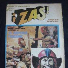 Tebeos: ZAS Nº 7. REVISTA DE AVENTURAS.BRUGUERA 1979.. Lote 45858950