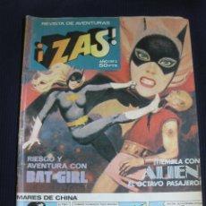 Tebeos: ZAS Nº 3. REVISTA DE AVENTURAS.BRUGUERA 1979.. Lote 45858997