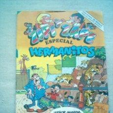 Tebeos: ZIPI ZAPE Nº 124 ESPECIAL HERMANITOS BRUGUERA 1983 CROMOS ASES DEPORTE. Lote 172380137