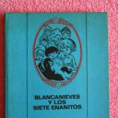 Tebeos: BLANCANIEVES Y LOS SIETE ENANITOS 1968 BRUGUERA COLECCION PARA LA INFANCIA. Lote 45888992